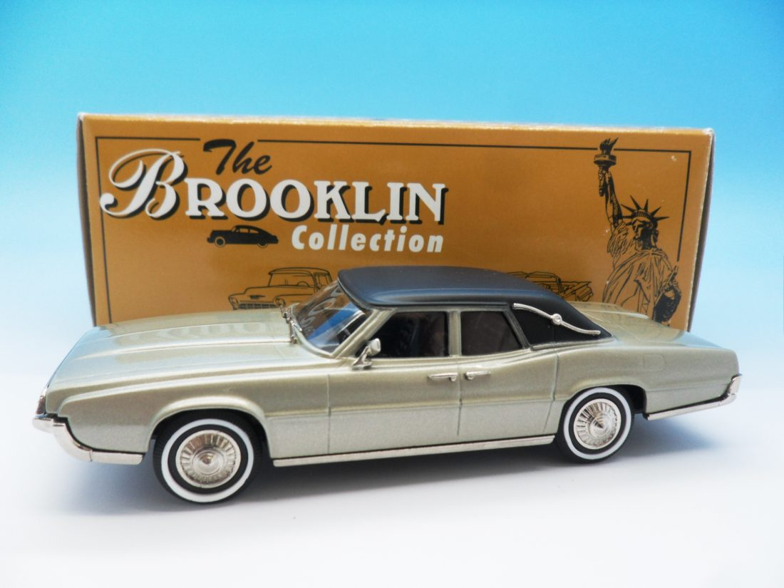 Brooklin collection White Metal 1/43