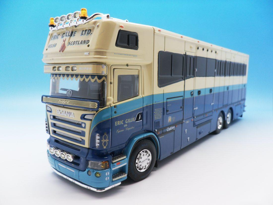 Tekno 1/50 Eric Gillie Scania Horse Transporter