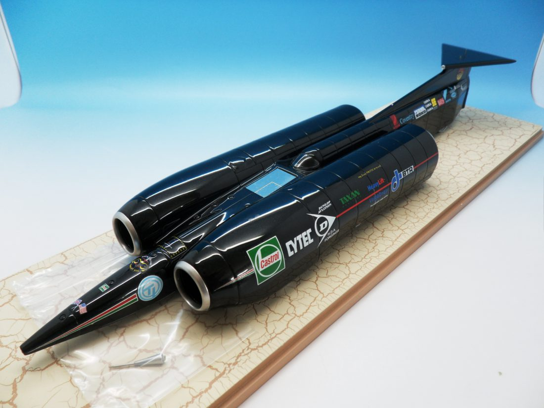 Spark Land Speed Record Car Thrust SSC 1/43