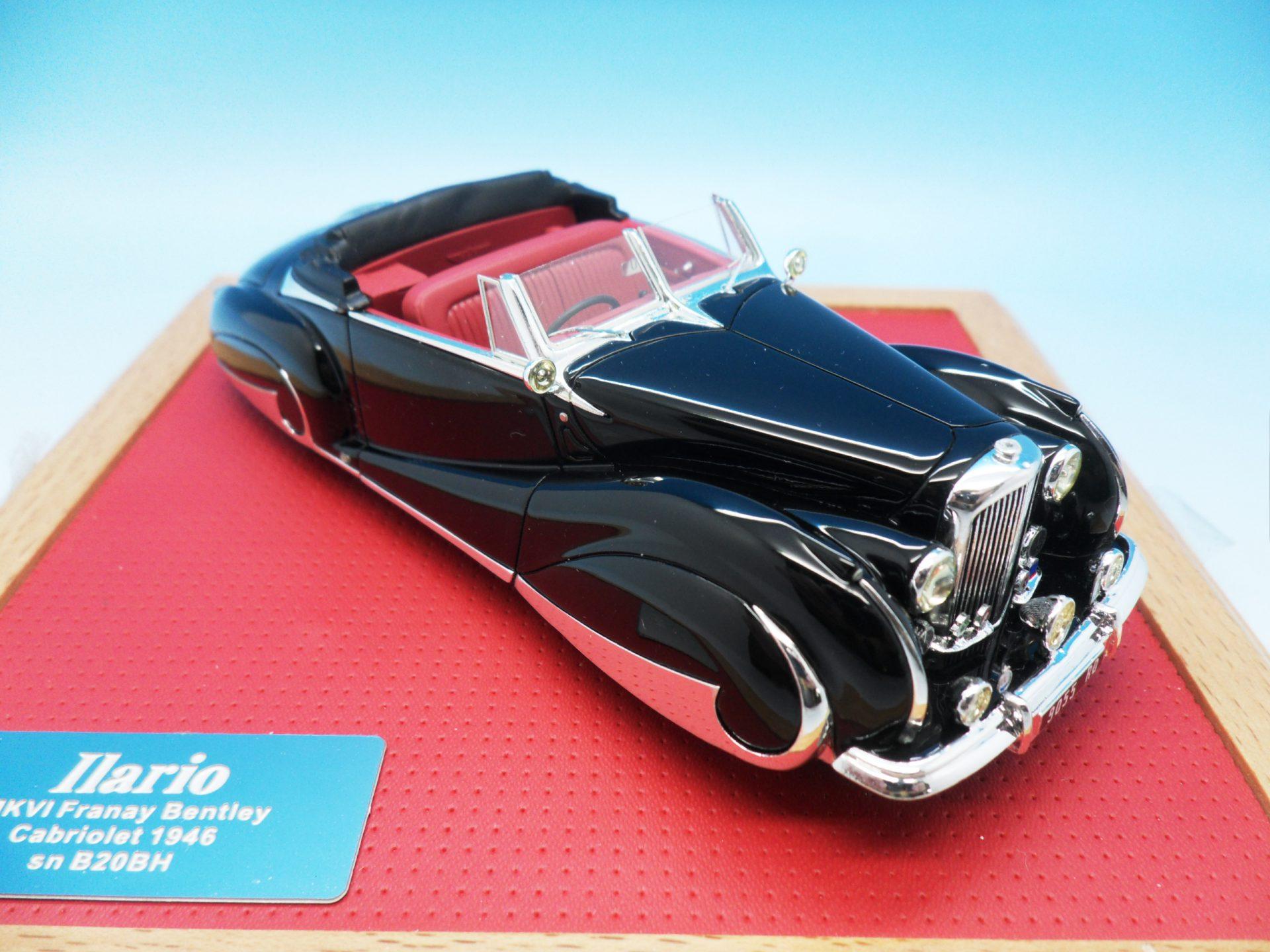 Ilario Franay Bentley Cabriolet 1946