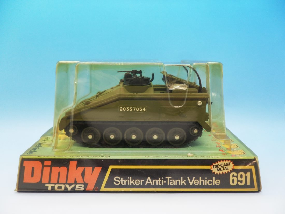 Dinky Toys Striker Anti-Tank Vehicle 691
