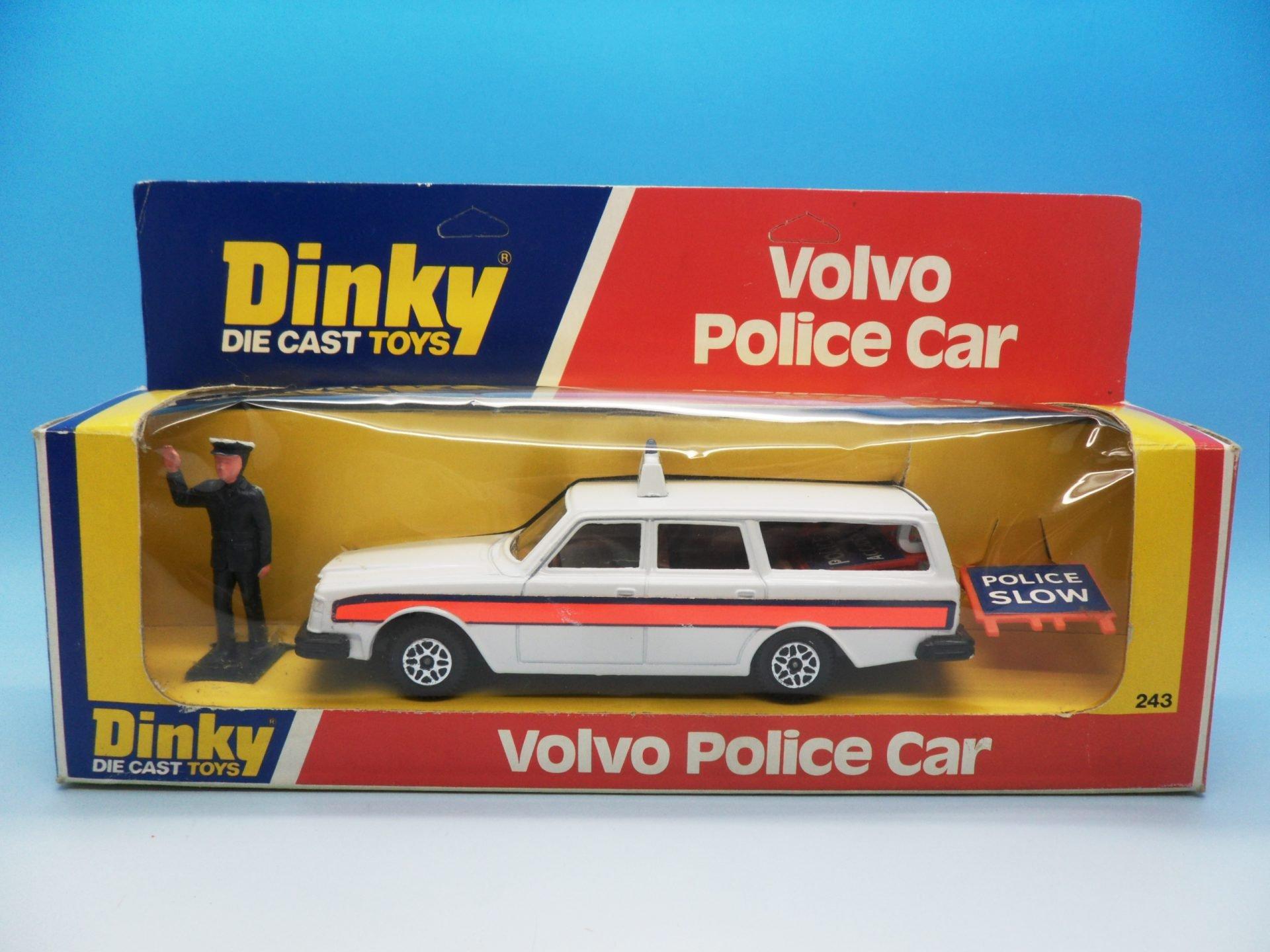 Dinky Toys Volvo Police Car 243