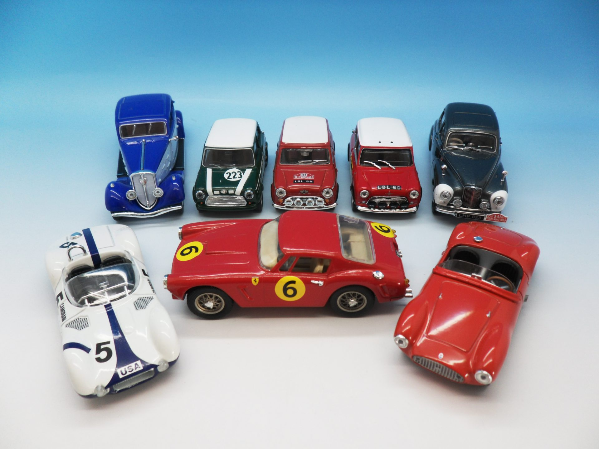 Unboxed Diecast Models