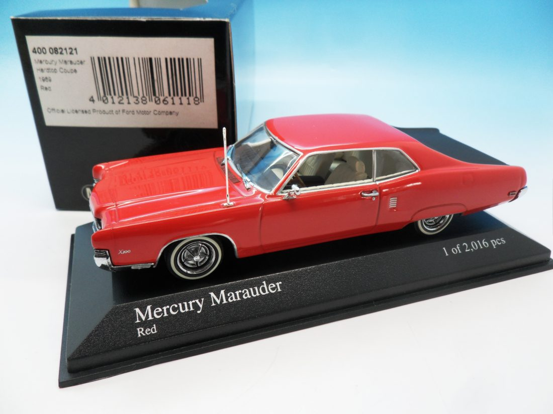 Minichamps Mercury Marauder red 400 082121 1/43