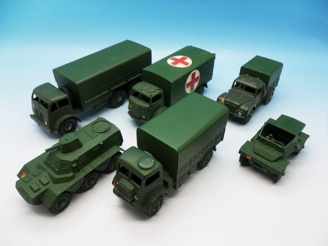 Dinky Collection of Military Vehicles Unboxed