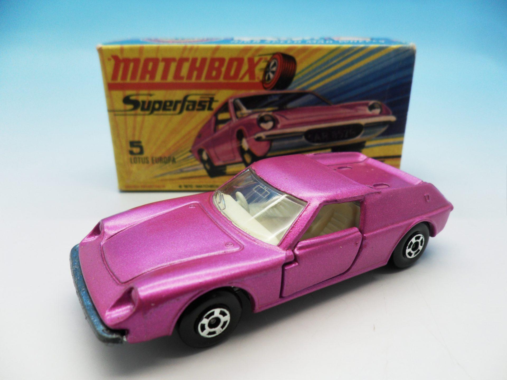 Matchbox Superfast Lotus Europa 5
