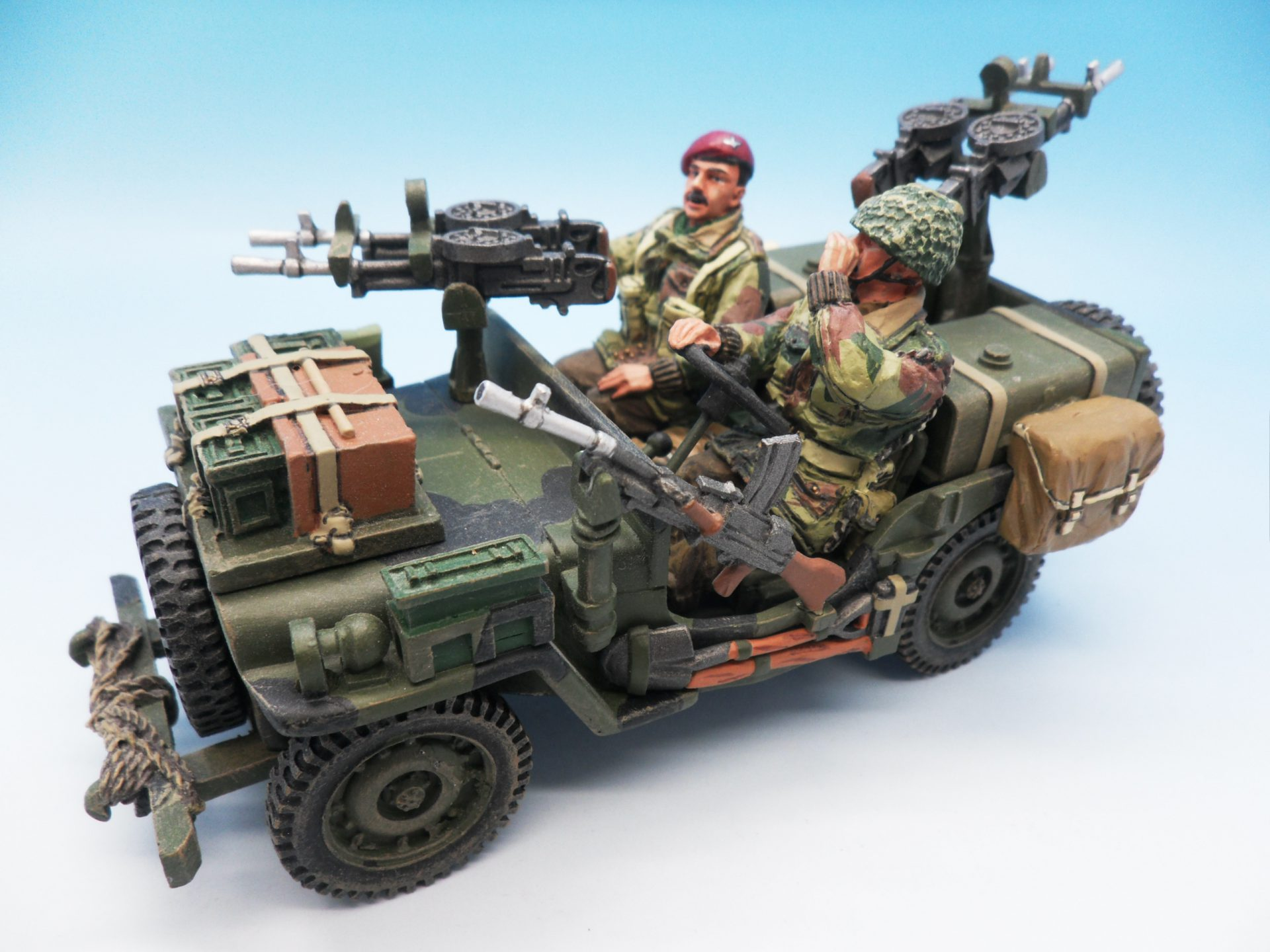King & Country Operation Market Garden Recce Jeep MG01 1/30