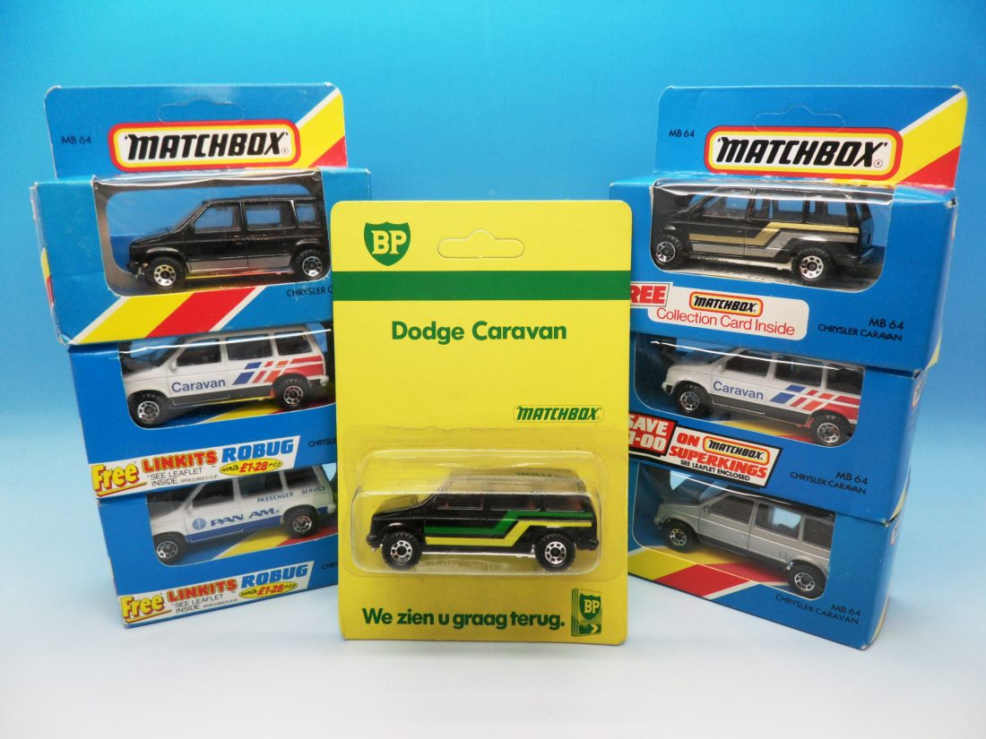 Matchbox Chrysler Dogde Caravans