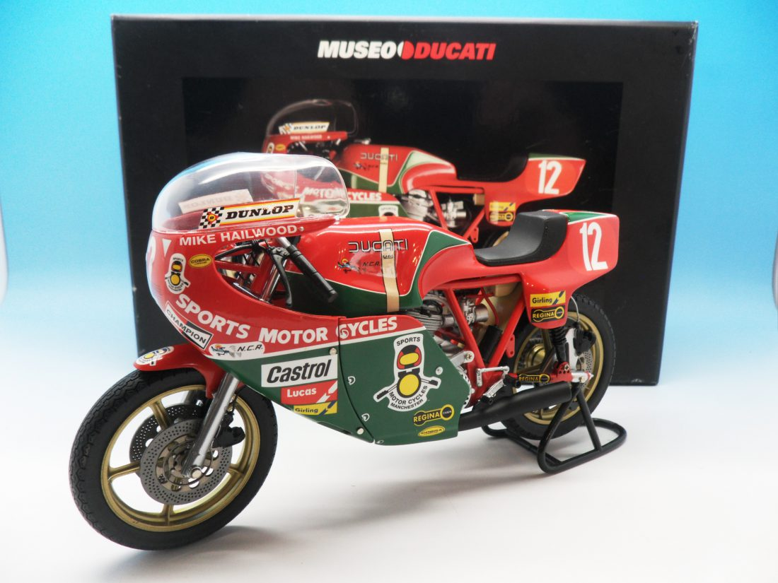 Minichamps 1978 Mike Hailwood Ducati 900 IOM TT 1989 1/12 122 781212