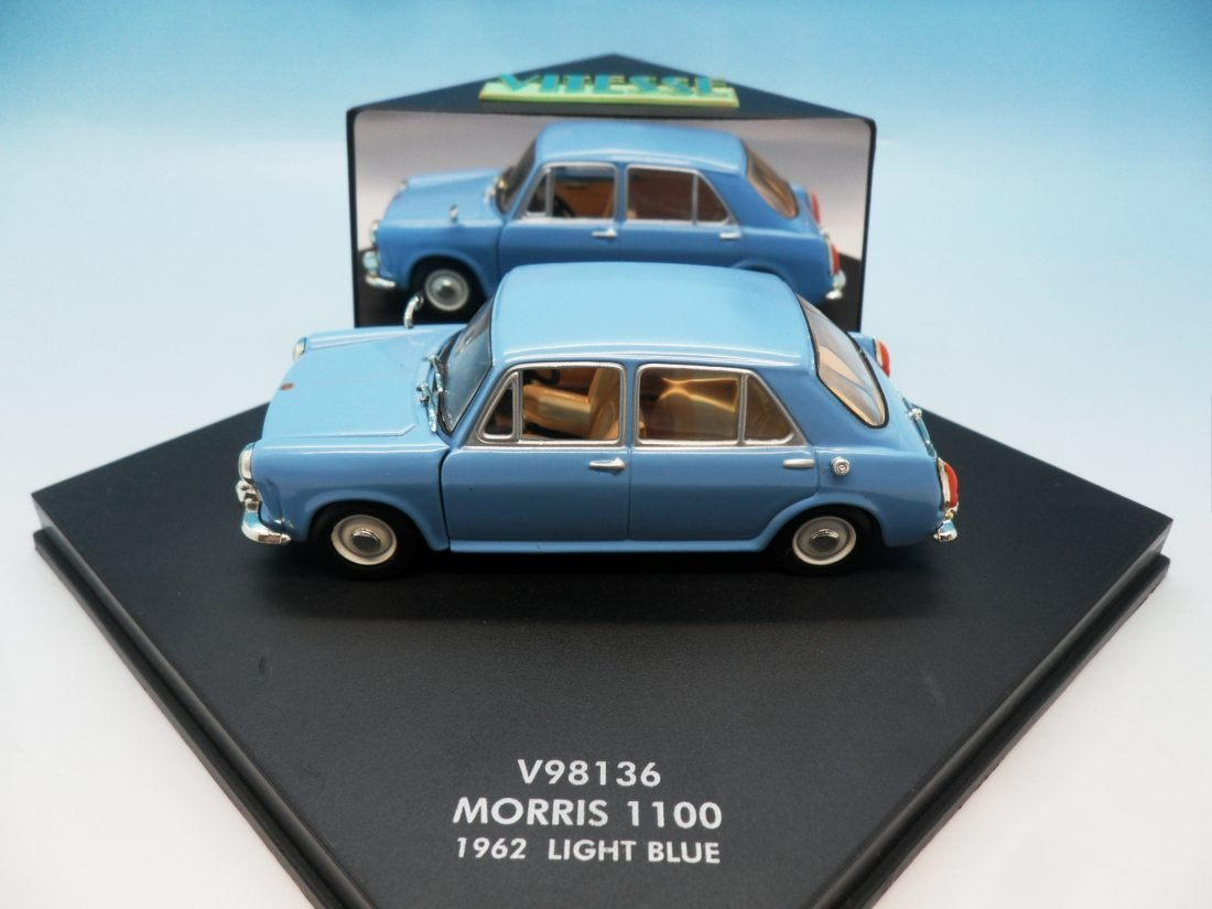 Morris 1100 Vitesse 1962 light blue V98136 1/43