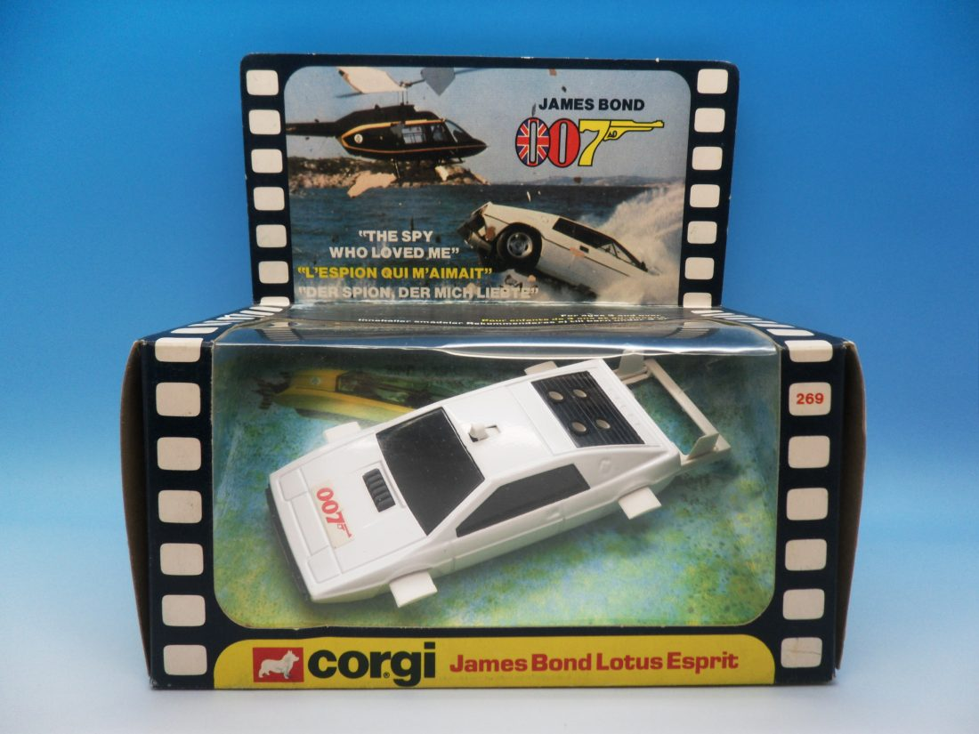 Corgi Toys James Bond Lotus Esprit 269