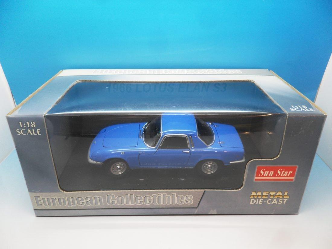 Sun Star 1966 Lotus Elan S3 blue 1/18