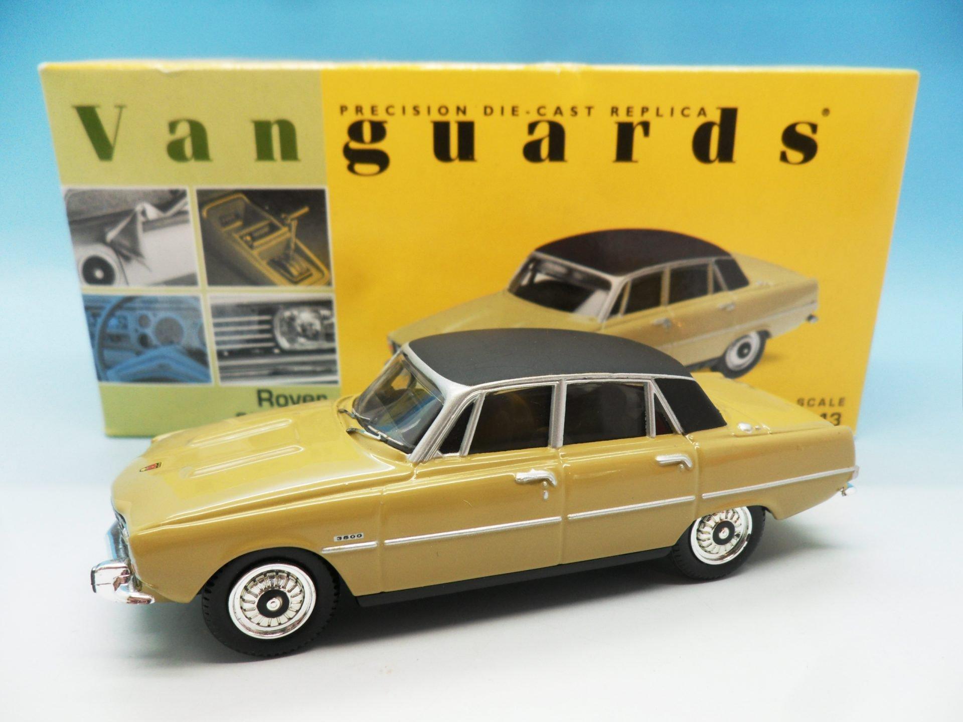Vanguards Rover P6 3500 V8 Almond VA06500 1/43