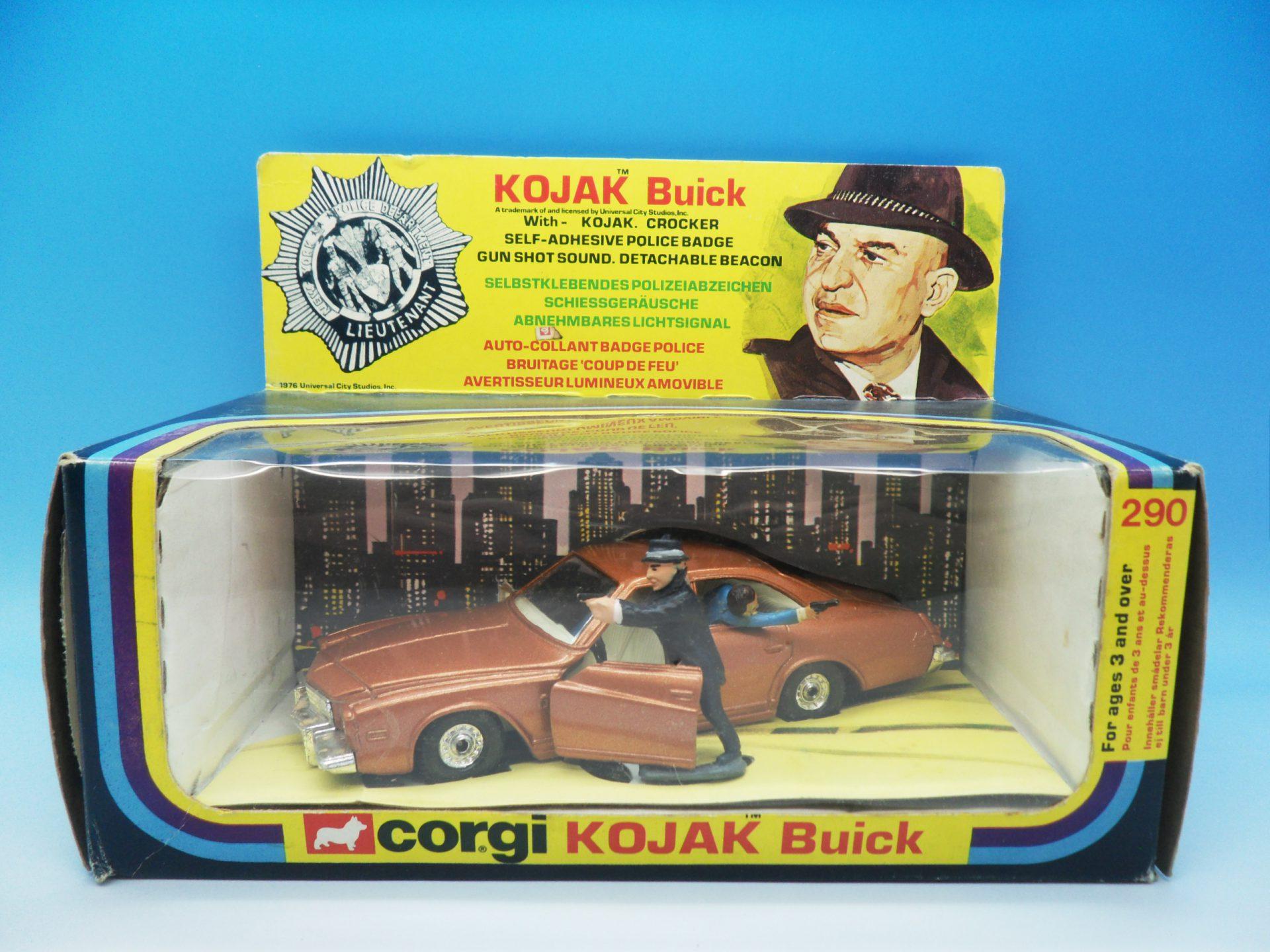 Corgi Toys Kojak Buick 290