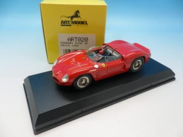 ART MODEL 1963 FERRARI DINO SP RED ART020 1_43