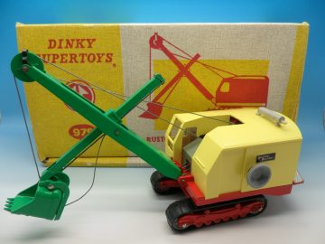 DINKY SUPERTOYS RUSTON BUCYRUS EXCAVATOR 975