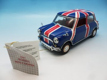 FRANKLIN MINT 1967 MINI COOPER UNION JACK 1_24