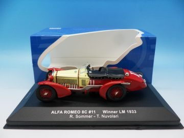 IXO ALFA ROMEO 8C #11 WINNER LE MANS 1933 LM1933 1_43