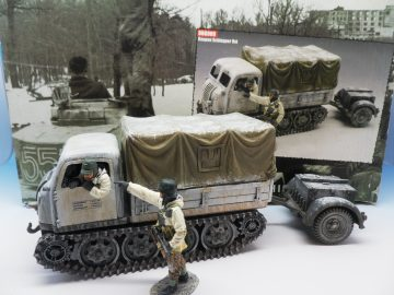 KING & COUNTRY BATTLE OF THE BULGE RAUPEN SCHLEPPER BBG009