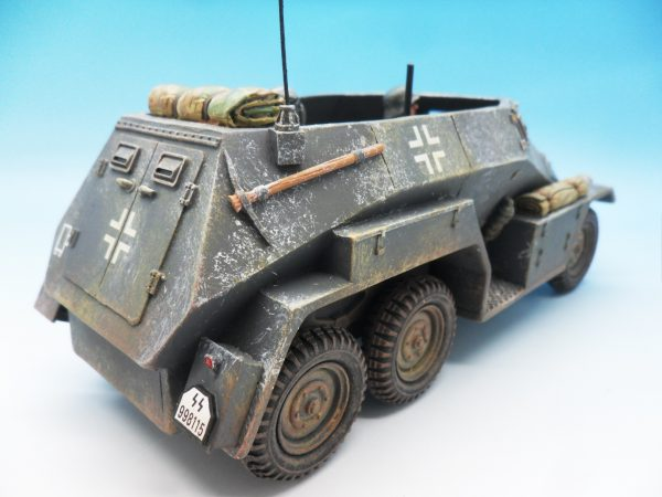 King & Country Battle of the Bulge Otto Skorzeny's Command Car BBG039 130 (10)