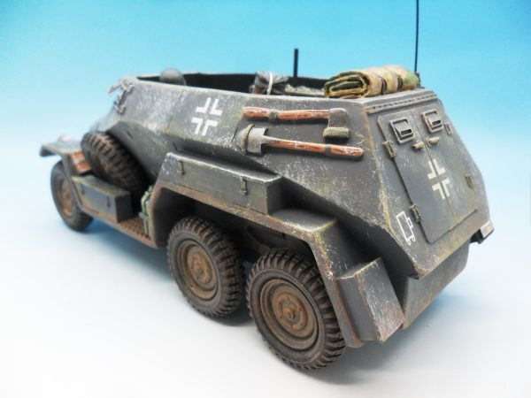 King & Country Battle of the Bulge Otto Skorzeny's Command Car BBG039 130 (2)
