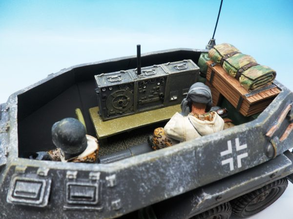 King & Country Battle of the Bulge Otto Skorzeny's Command Car BBG039 130 (3)