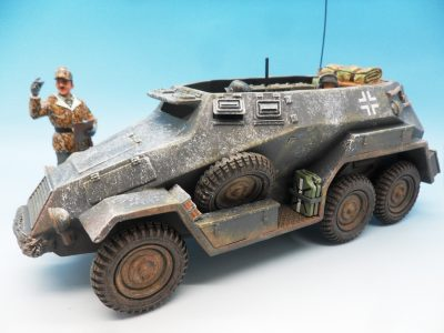 King & Country Battle of the Bulge Otto Skorzeny's Command Car BBG039 130 (7)