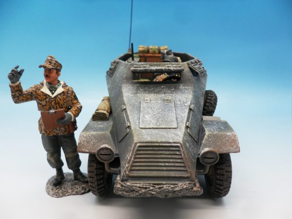King & Country Battle of the Bulge Otto Skorzeny's Command Car BBG039 130 (8)