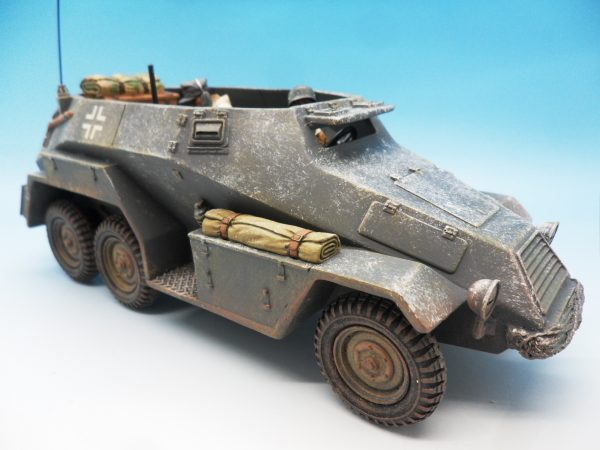 King & Country Battle of the Bulge Otto Skorzeny's Command Car BBG039 130 (9)