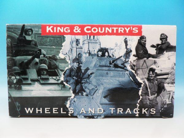 King & Country Battle of the Bulge Schwimmwagon (winter) BBG015 130 (1)