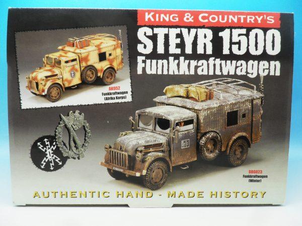 King & Country Funkkraftwagon Communication Vehicle (Winter) kosteyr 1500 BBG023 130 (1)