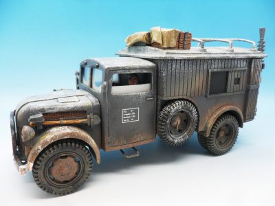 King & Country Funkkraftwagon Communication Vehicle (Winter) kosteyr 1500 BBG023 130 (2)