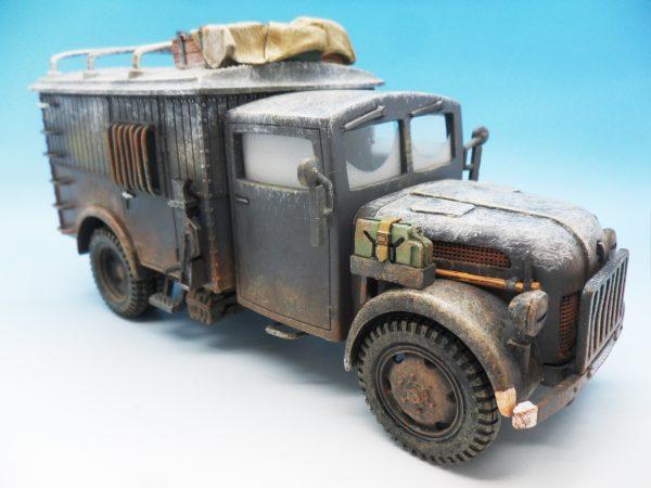 King & Country Funkkraftwagon Communication Vehicle (Winter) kosteyr 1500 BBG023 130 (4)