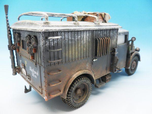 King & Country Funkkraftwagon Communication Vehicle (Winter) kosteyr 1500 BBG023 130 (5)