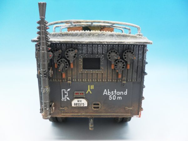 King & Country Funkkraftwagon Communication Vehicle (Winter) kosteyr 1500 BBG023 130 (6)