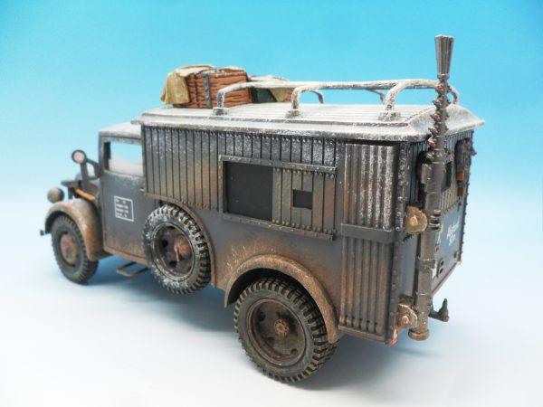 King & Country Funkkraftwagon Communication Vehicle (Winter) kosteyr 1500 BBG023 130 (7)