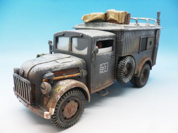 King & Country Funkkraftwagon Communication Vehicle (Winter) kosteyr 1500 BBG023 130 (8)