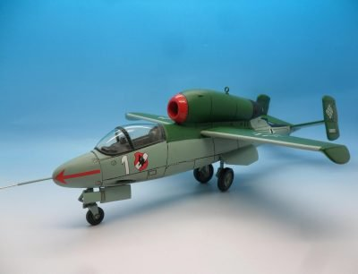 King & Country, German Luftwaffe, The Heinkel HE 162 Salamander