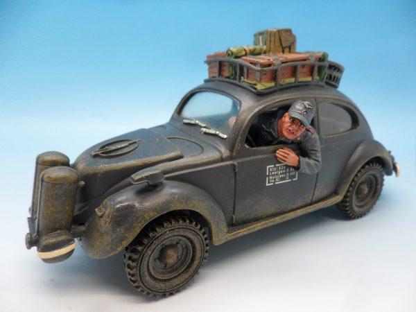King & Country Luftwaffe Volkswagen Beetle LW043 130 (2)