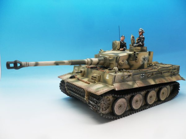 King & Country Panzerkampwagen VI Tiger 1 WSS151 130 (1)