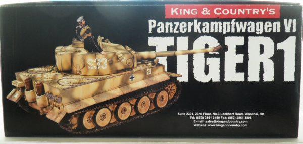 King & Country Panzerkampwagen VI Tiger 1 WSS151 130 (10)