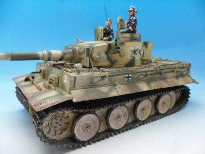 King & Country Panzerkampwagen VI Tiger 1 WSS151 130 (2)