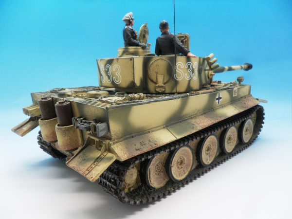 King & Country Panzerkampwagen VI Tiger 1 WSS151 130 (7)