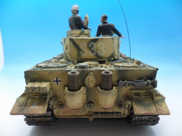 King & Country Panzerkampwagen VI Tiger 1 WSS151 130 (8)
