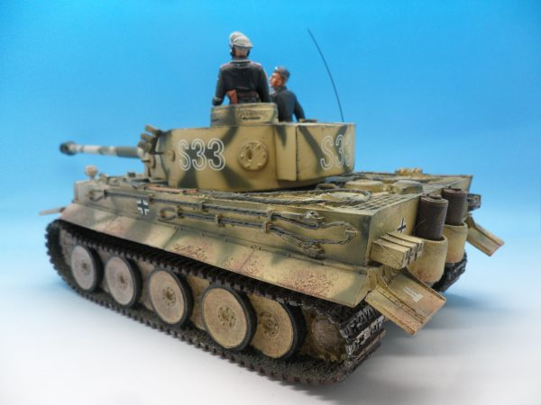 King & Country Panzerkampwagen VI Tiger 1 WSS151 130 (9)