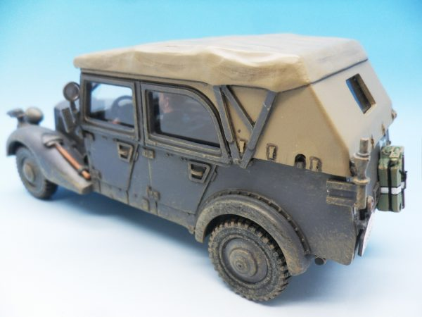 King & Country WW2 German Forces Sd.Kfz.2 Military Car WSS248 130