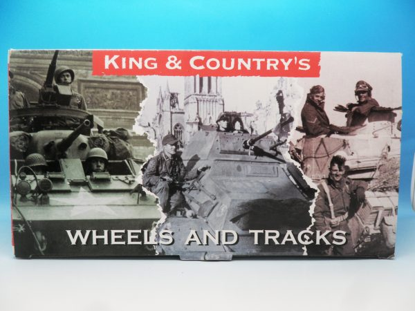 King & Country WW2 Wehrmact Sd.Kfz251 Armoured Ambulance WH005 130 (3)