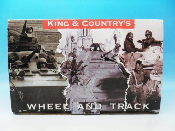 King & Country WW2 Wehrmact Sd.Kfz.2 Kettenkrad and trailer WH023 130 (1)