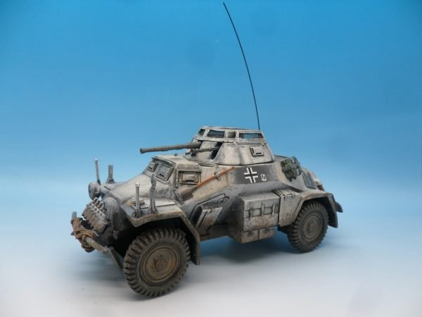 King and Country Battle of the Bulge 222 Armoured Car BBG054 130 (2)