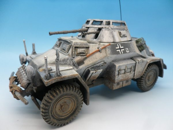 King and Country Battle of the Bulge 222 Armoured Car BBG054 130 (3)